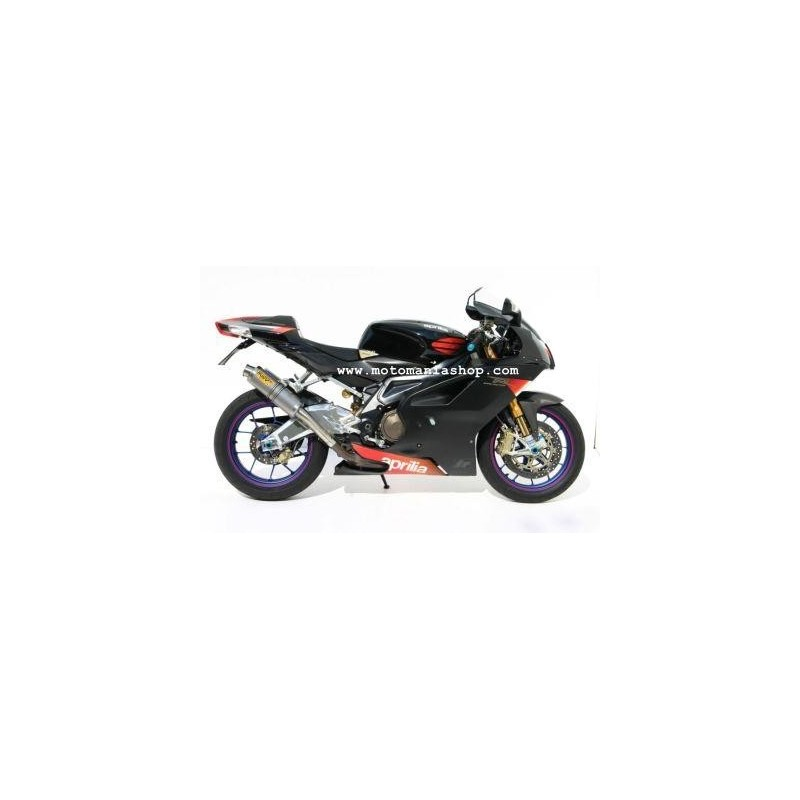 TERMINAL PAIR OF EXHAUST MIVV TITANIUM GP FOR THUNDER APRIL 1000 R, RSV 1000 R (FACTORY), APPROVED