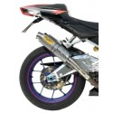 PAIR OF EXHAUST MIVV GP TITANIUM FOR APRILIA TUONO 1000 R, RSV 1000 R (FACTORY), APPROVED