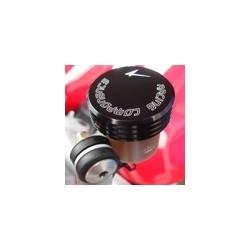 COPERCHIO SERBATOIO POMPA FRENO POSTERIORE 4-RACING PER KTM SUPER DUKE 990 2007/2011, SUPERMOTO 690 2007/2011, SMR 690 2008/2010