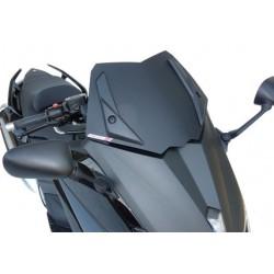 GEN-X WINDSHIELD SPORT FABBRI FOR YAMAHA T-MAX 530 2012/2014, BISATINATED BLACK, WHITE