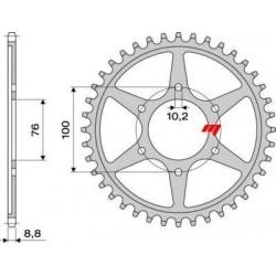 STEEL REAR SPROCKET FOR ORIGINAL CHAIN 530 FOR SUZUKI BANDIT 1200 1996/2006