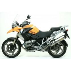 ARROW MAXI RACE-TECH ALUMINUM EXHAUST TERMINAL FOR BMW R 1200 GS/GS ADV 2006/2009, APPROVED