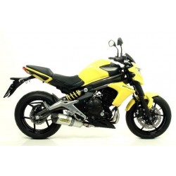 ARROW RACE-TECH ALUMINUM COMPLETE EXHAUST SYSTEM WITH CARBON BASE FOR KAWASAKI ER-6N 2012/2016