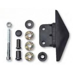 FAR MIRRORS MOUNTING KIT FOR T-MAX 530 2012/2019 (WITH MIRROR HOLE CAP INCLUDED), RIGHT SIDE