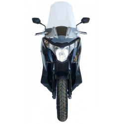 WINDSCREEN FABBRI EXCLUSIVE MODEL FOR HONDA INTEGRA 700 2012/2013, TRANSPARENT