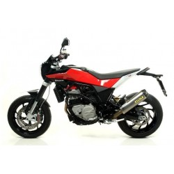 EXHAUST TERMINAL ARROW TITANIUM WORKS WITH CARBON BACK FOR HUSQVARNA NAKED 900/R, APPROVED