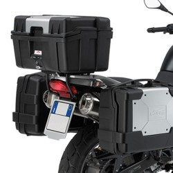 BRACKETS GIVI SR685 FOR FIXING MONOKEY TRUNK FOR BMW F 650 GS 2004/2007, G 650 GS 2011/2015