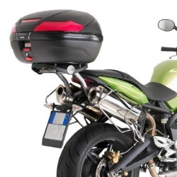 BRACKETS GIVI 727FZ FOR FIXING MONOKEY TRUNK AND MONOLOCK FOR TRIUMPH STREET TRIPLE 675/R 2008/2010
