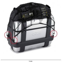 ELASTIC NET GIVI T10N OBJECTS HOLDER