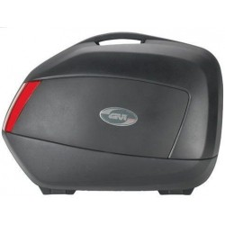 PAIR OF SIDE CASES MONOKEY SIDE GIVI V35N CAPACITY 34 LITERS, COLOR BLACK