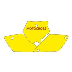 BLACKBIRD NUMBER STICKER KIT MOTOCROSS MODEL FOR KTM SX 125/525 2004/2006, SX 200/250/450 2003/2006
