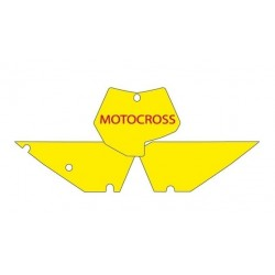 BLACKBIRD NUMBER STICKER KIT MOTOCROSS MODEL FOR KTM SX / SX-F (ALL DISPLACEMENTS EXCEPT MINICROSS) 2007/2010
