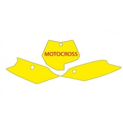 BLACKBIRD NUMBER STICKER KIT MOTOCROSS MODEL FOR KTM SX / SX-F (ALL DISPLACEMENTS EXCEPT MINICROSS) 2011/2012