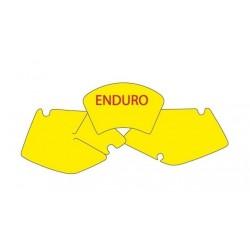 NUMBER-CARRYING ADHESIVE KIT BLACKBIRD ENDURO MODEL FOR KAWASAKI KLX 300 1999/2002