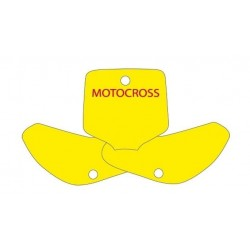 BLACKBIRD NUMBER STICKER KIT MOTOCROSS MODEL FOR KAWASAKI KX 65 2000/2018