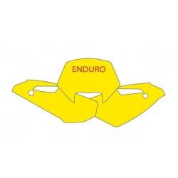 BLACKBIRD NUMBER STICKER KIT ENDURO MODEL FOR HUSQVARNA WR 250/300 2009/2013