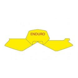 BLACKBIRD NUMBER STICKER KIT ENDURO MODEL FOR HUSQVARNA TE 250/450/510 2005/2007, WR 125/250 2006/2008