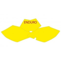 BLACKBIRD NUMBER STICKER KIT ENDURO MODEL FOR BETA RR MODELS (4T) 2005/2007