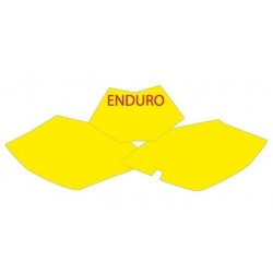 BLACKBIRD NUMBER STICKER KIT ENDURO MODEL FOR BETA RR MODELS (4T) 2010/2012