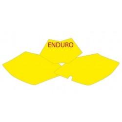 NUMBER-CARRYING ADHESIVE KIT BLACKBIRD ENDURO MODEL FOR BETA MODELS RR (4T) 2010/2012