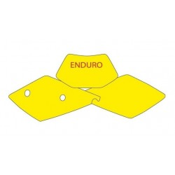BLACKBIRD NUMBER STICKER KIT ENDURO MODEL FOR KTM EXC / EXC-F 2004 (ALL DISPLACEMENTS)