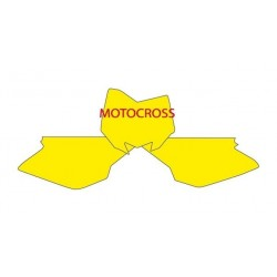 BLACKBIRD NUMBER STICKER KIT MOTOCROSS MODEL FOR HUSQVARNA CR 125/250 R 2005