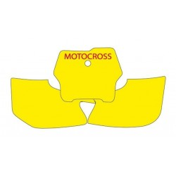 BLACKBIRD NUMBER STICKER KIT MOTOCROSS MODEL FOR HUSQVARNA TC 250 2002/2004, CR 125 R 2000/2004