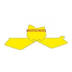NUMBER-CARRYING STICKER KIT BLACKBIRD MOTOCROSS MODEL FOR HUSQVARNA TC 250 2008/2013, TC 450 2008/2010