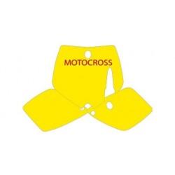 KIT ADESIVI PORTANUMERO BLACKBIRD MODELLO MOTOCROSS PER KTM SX 65 2002/2008