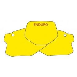 NUMBER-CARRYING ADHESIVE KIT BLACKBIRD ENDURO MODEL FOR HONDA CRE 125/250 2001