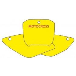 BLACKBIRD NUMBER STICKER KIT MOTOCROSS MODEL FOR HONDA CRF 450 R 2004