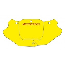 BLACKBIRD NUMBER STICKER KIT MOTOCROSS MODEL FOR HONDA CR 125/250 R 2000/2001