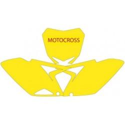 BLACKBIRD NUMBER STICKER KIT MOTOCROSS MODEL FOR SUZUKI RM-Z 250 2010/2018