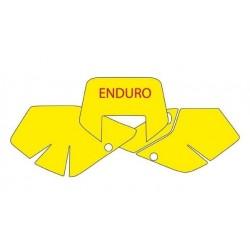 BLACKBIRD NUMBER STICKER KIT ENDURO MODEL FOR SUZUKI DRZ 400 2000/2002