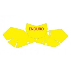 ENDURO MODEL BLACKBIRD NUMBER STICKER KIT FOR SUZUKI DRZ 400 2003/2015