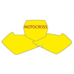 BLACKBIRD NUMBER STICKER KIT MOTOCROSS MODEL FOR SUZUKI RM 125/250 2001/2016