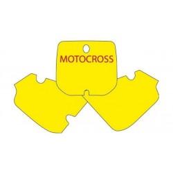 BLACKBIRD NUMBER STICKER KIT MOTOCROSS MODEL FOR SUZUKI RM 80 2000/2001
