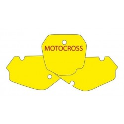 BLACKBIRD NUMBER STICKER KIT MOTOCROSS MODEL FOR SUZUKI RM 85 2003/2019