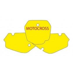 BLACKBIRD NUMBER STICKER KIT MOTOCROSS MODEL FOR SUZUKI RM 85 2003/2019