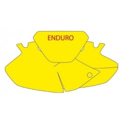 BLACKBIRD NUMBER STICKER KIT ENDURO MODEL FOR YAMAHA WR 250/426 F 2000/2002