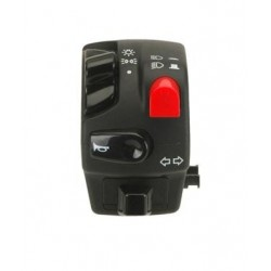 ELECTRIC TOMMASELLI BAR SWITCH FOR HONKING, DAZZLING/DAZZLING LIGHTS, DIRECTION INDICATORS COMMAND