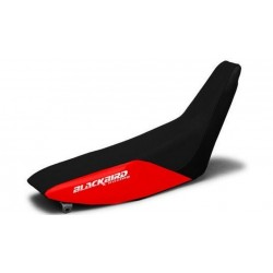BLACKBIRD SEAT COVER TRADITIONAL MODEL FOR HONDA CRF XR 250 R 1996/2004, COLOR BLACK/RED