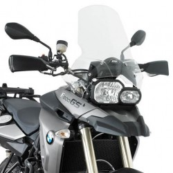 WINDSHIELD GIVI FOR BMW F 650/800 GS 2008/2016, TRANSPARENT