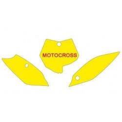 BLACKBIRD NUMBER STICKER KIT MOTOCROSS MODEL FOR KTM SX 85 2013/2017