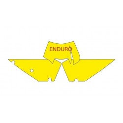 BLACKBIRD NUMBER STICKER KIT ENDURO MODEL FOR KTM EXC/EXC-F 2012/2013 (ALL DISPLACEMENTS)