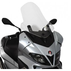 WINDSHIELD GIVI FOR GILERA NEXUS 125/250/300/500 2006/2012, TRANSPARENT