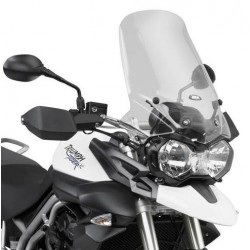 WINDSHIELD GIVI FOR TRIUMPH TIGER 800/XC 2011/2017, TRANSPARENT