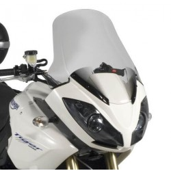 WINDSHIELD GIVI FOR TRIUMPH TIGER 1050 2007/2015, TIGER SPORT 1050 2013/2020, TRANSPARENT