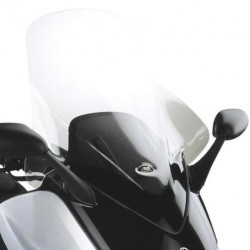 CUPOLINO GIVI PER YAMAHA T-MAX 500 2000/2007, TRASPARENTE