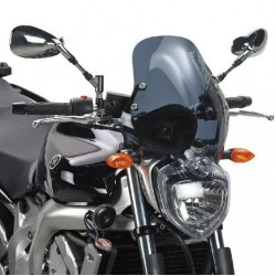 WINDSHIELD GIVI FOR YAMAHA FZ6 2004/2006, SMOKED